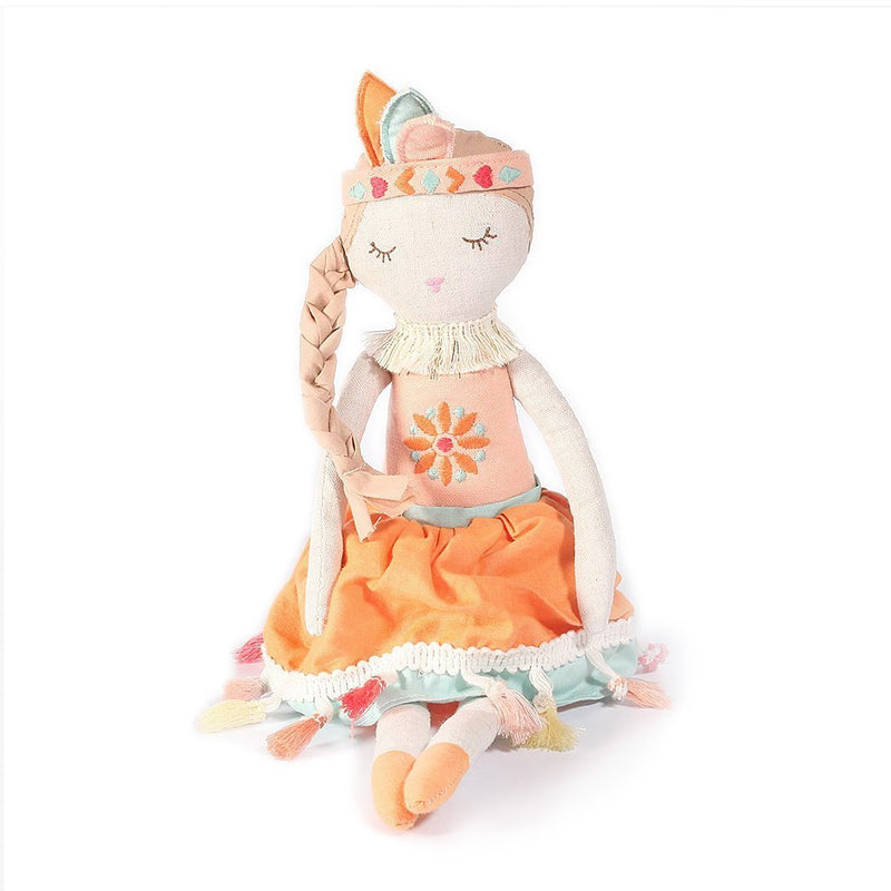 TRIBAL PRINCESS HEIRLOOM DOLL 'CLAIRE' SMALL