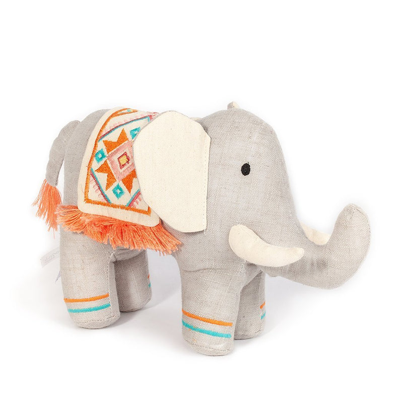 'EDEN' TRIBAL ELEPHANT STUFFED TOY