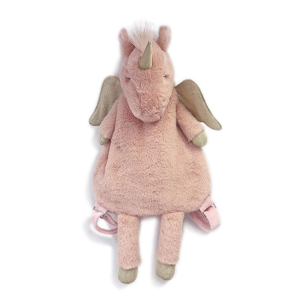 PINK PLUSH UNICORN BACKPACK 'ULIANA'