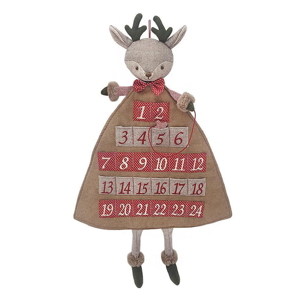 Mon Ami Merry Reindeer Advent Calendar, 26 in
