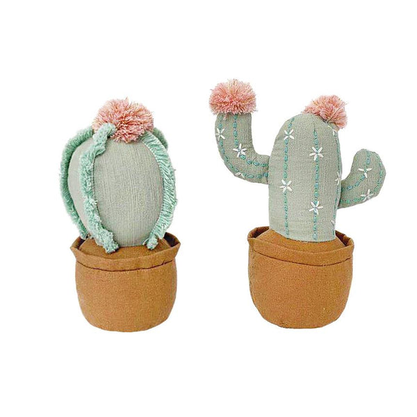 CACTUS POT SHELF SITTER