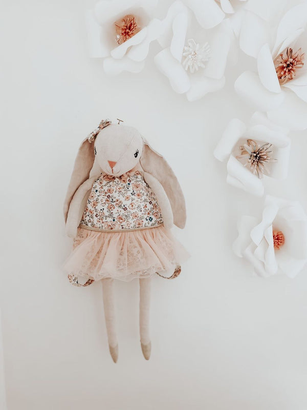 MY DOLLY BUNNY LINEN BACKPACK