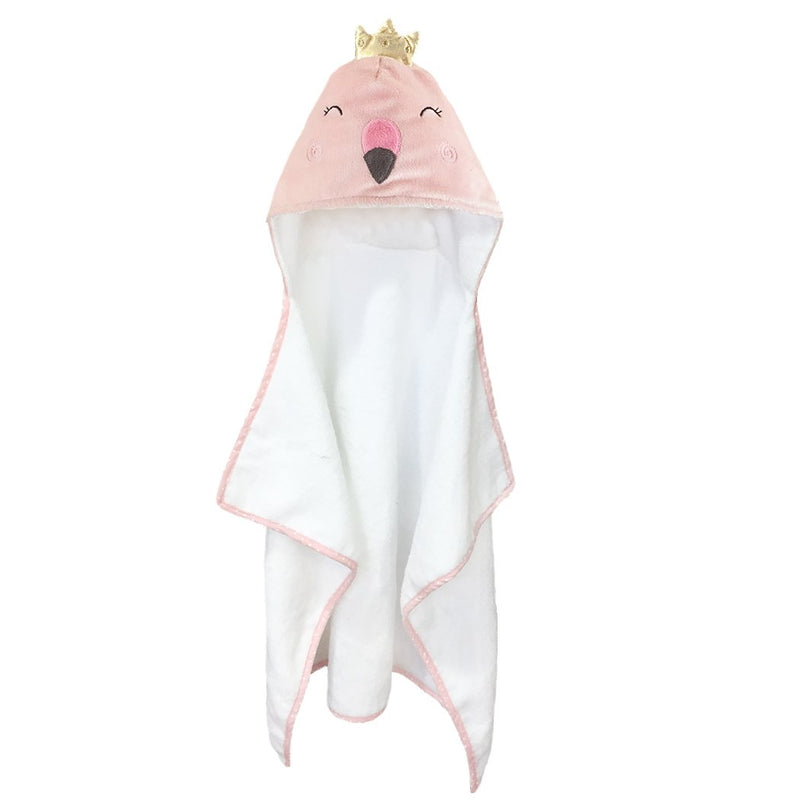 FLAMINGO BABY TERRY TOWEL