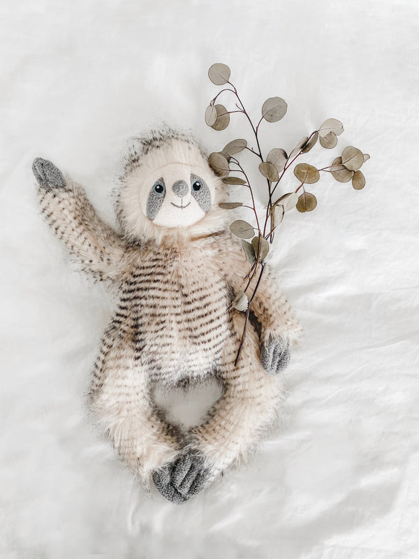 'SIMON' SLOTH LUXE FUR PLUSH TOY