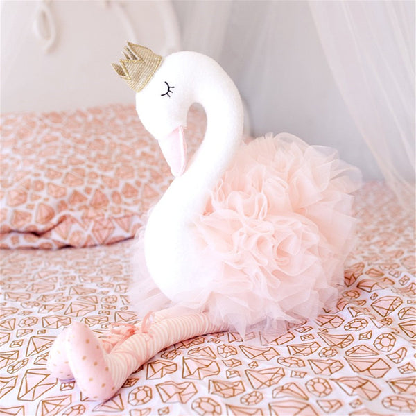 swan doll stuffed toy