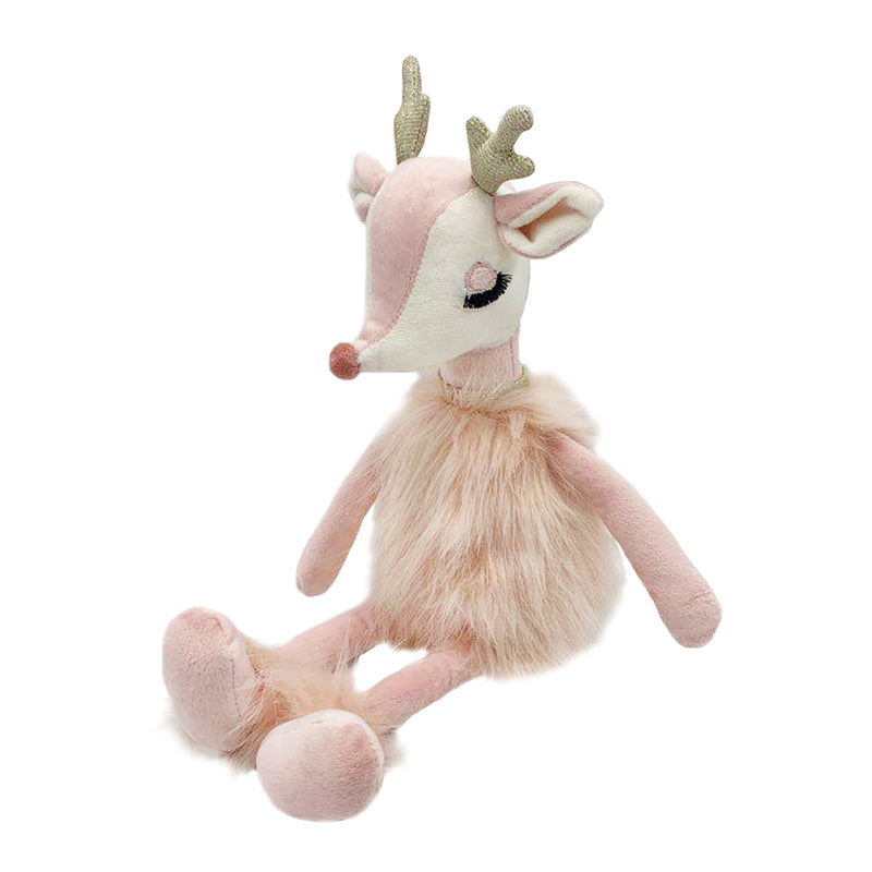 FREIJA THE PINK REINDEER DOLL