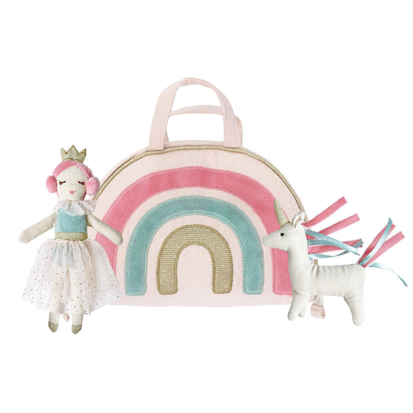 RAINBOW PLAY PURSE & DOLL SET