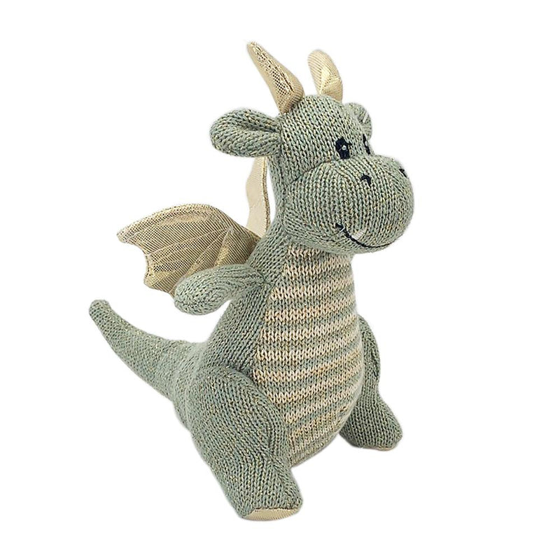 'DAX' DRAGON KNIT RATTLE