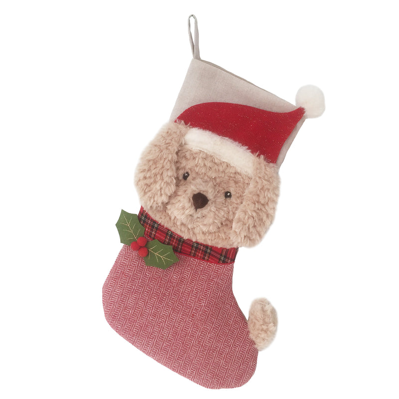 MERRY GOLDEN DOODLE STOCKING