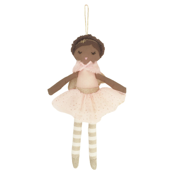 ADA PINK ANGEL DOLL ORNAMENT