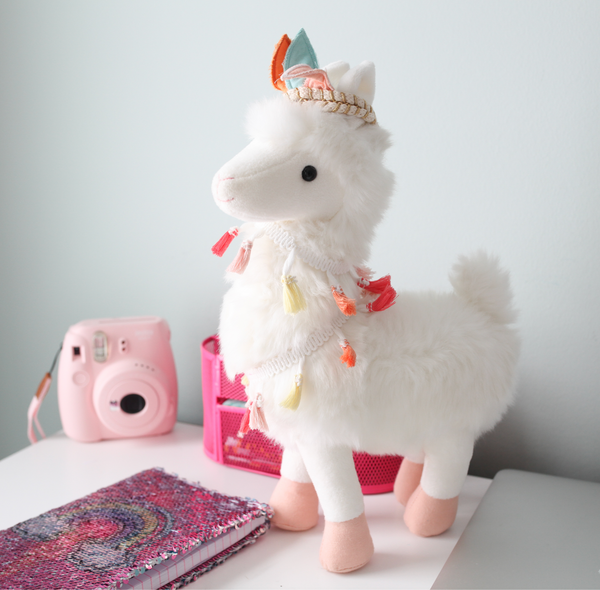 'LAKELY' TRIBAL LLAMA PLUSH TOY