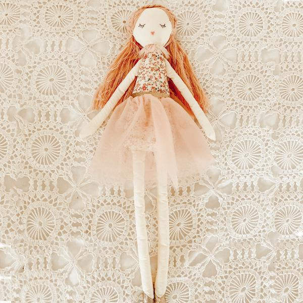 'ROSE' SCENTED HEIRLOOM DOLL - LARGE