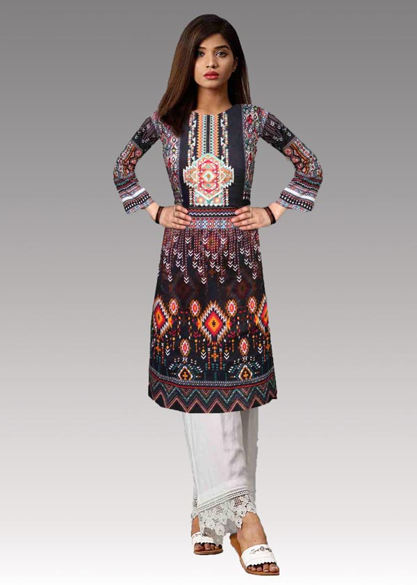 Juliana A - Digital Embroidered Lawn (Unstitch)