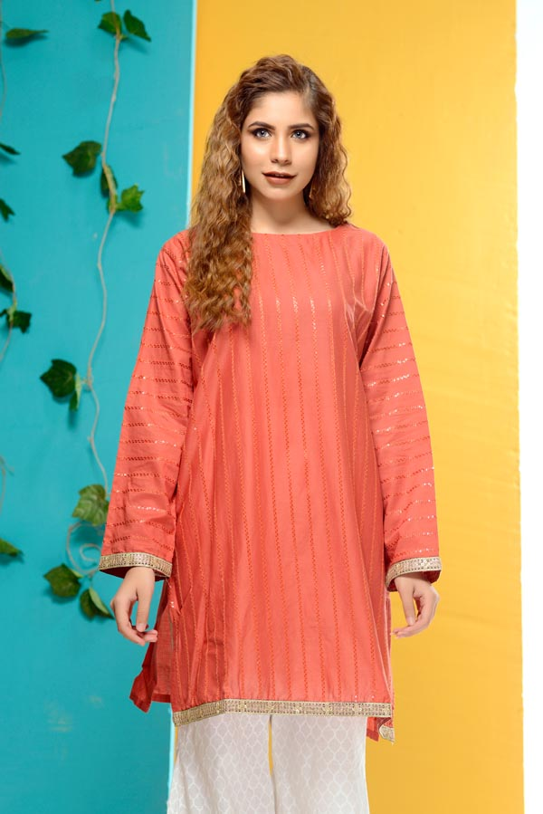 Adonis - Embroidered Lawn Kurti