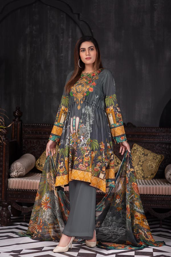 Anchor - Digital Embroidered Lawn (Unstitch)
