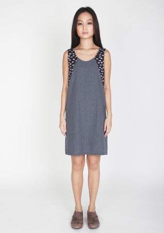 Mason Printed Panel Cotton Dress 2