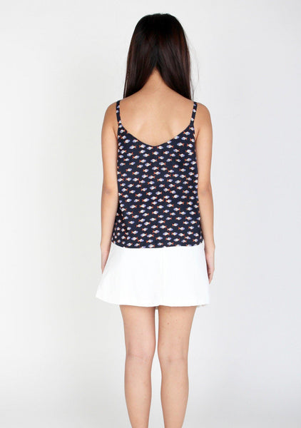 Wren Fish Print Cami Top 3
