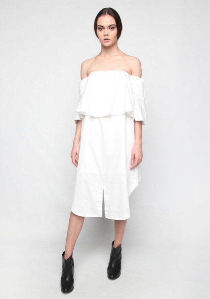 Chirico Dress in White