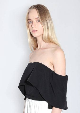 Chirico Top in Black - SALIENT LABEL