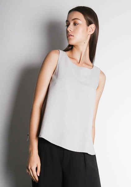CLEO TOP - SILVER CITY - SALIENT LABEL