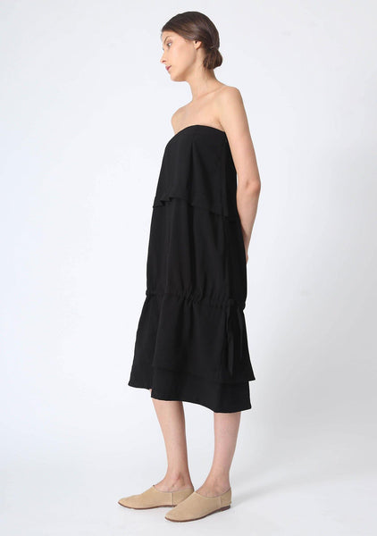 EAMON DRAWSTRING TUBE DRESS - SALIENT LABEL
