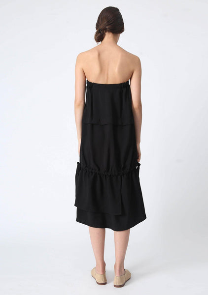 EAMON DRAWSTRING DRESS / DRAWSTRING SKIRT - SALIENT LABEL