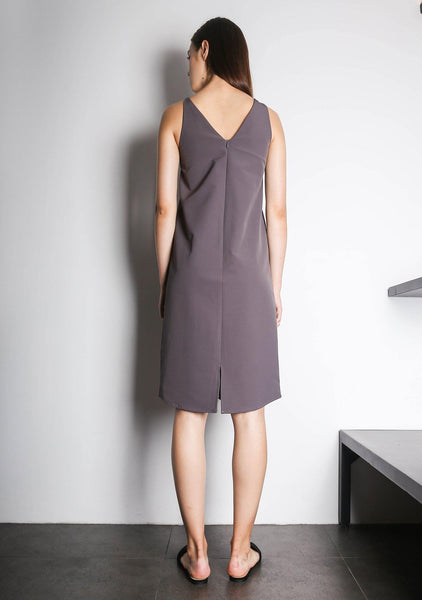 EDEN DRESS - QUIXOTIC PLUM