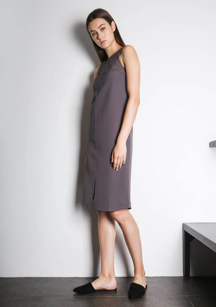 EDEN DRESS - QUIXOTIC PLUM - SALIENT LABEL