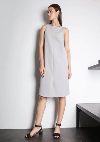 EDEN DRESS - VAPOUROUS GREY