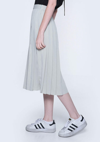 ELKIN PLEATED COLOURBLOCK SKIRT - HUSH - SALIENT LABEL