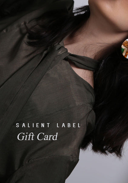 E-Gift Card - SALIENT LABEL