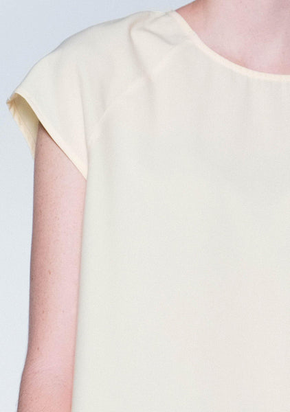 Horus Asymmetric Top - Royal Cream
