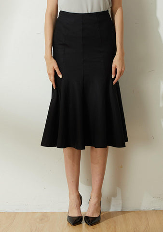 Kierce Mermaid Skirt - Black - SALIENT LABEL