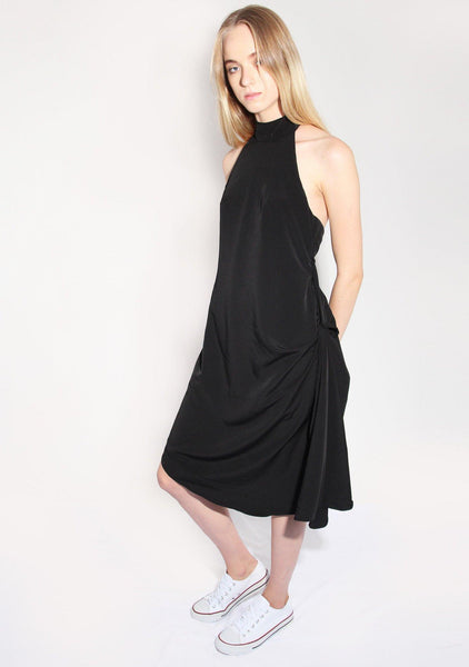 Mies Dress in Black (30% off) - SALIENT LABEL
