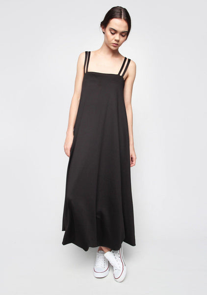 Morrisson Maxi Dress in Stretch Scuba