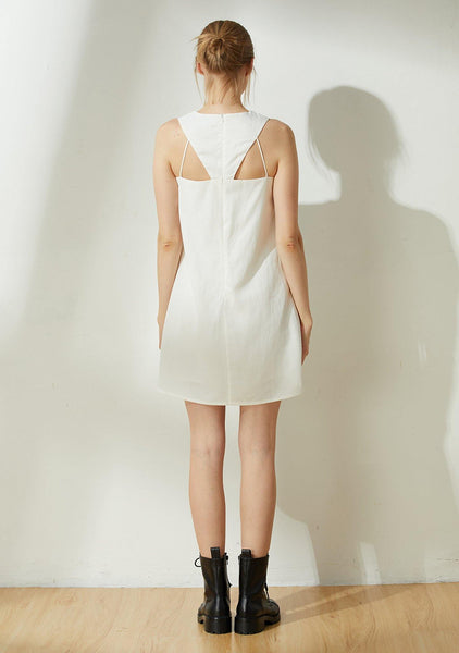 Odette Cut-out Back Shift Dress - Timeless
