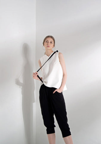 RENOX RAYON PANTS WITH SASH