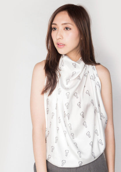 LCC LONG SCARF - SALIENT LABEL