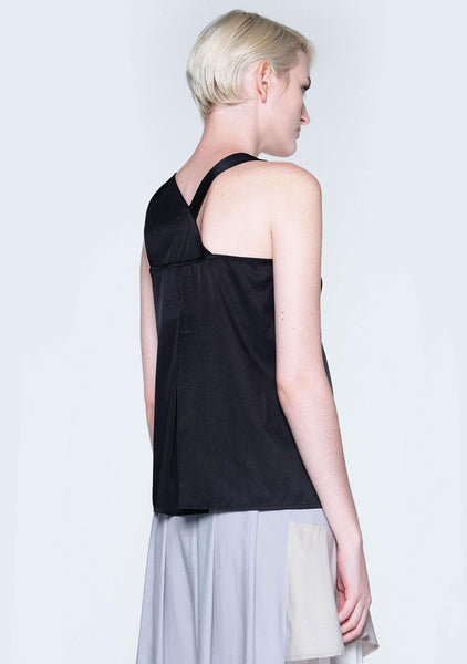 TIVRI ASYMMETRIC BACK TOP - CAVIER