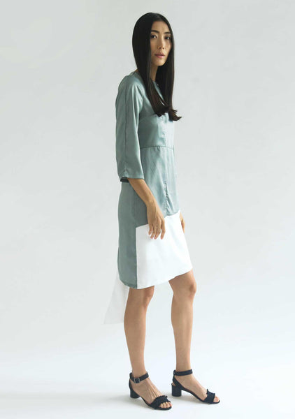 WHITTON DRESS - CATALINA BLUE (-10% off) - SALIENT LABEL