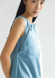 ZOLA DRESS - AIR FORCE BLUE - SALIENT LABEL