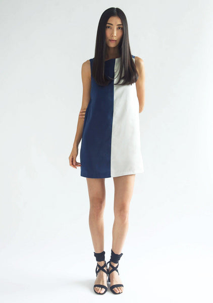 ZOLA DRESS - PRUSSIAN BLUE