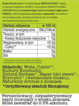 Koala Kombucha Duży Mix 12x330ml