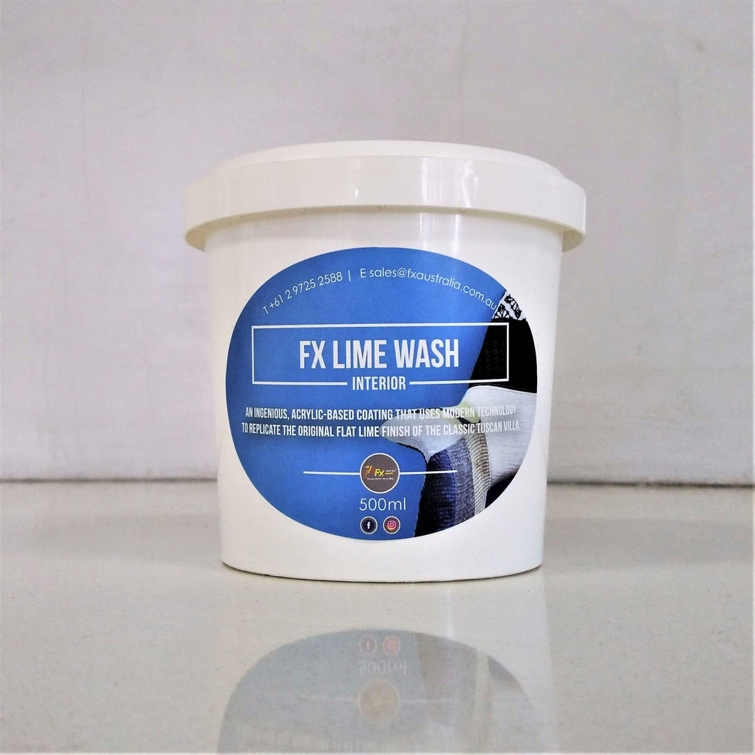 FX Lime Wash - Interior & Exterior