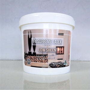 FX Supreme Latex Low Sheen - Interior Only