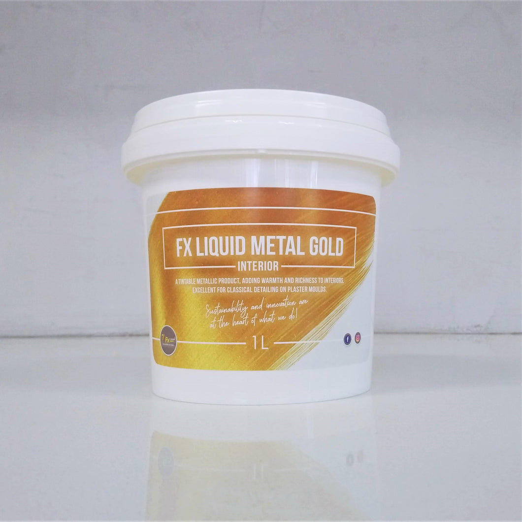 FX Liquid Metal Gold - Interior Only