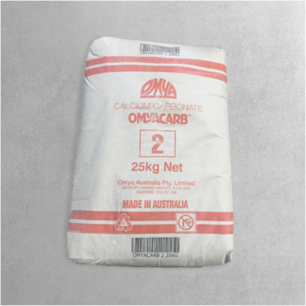 OMYACARB 2 (Calcium Carbonate) 25kg