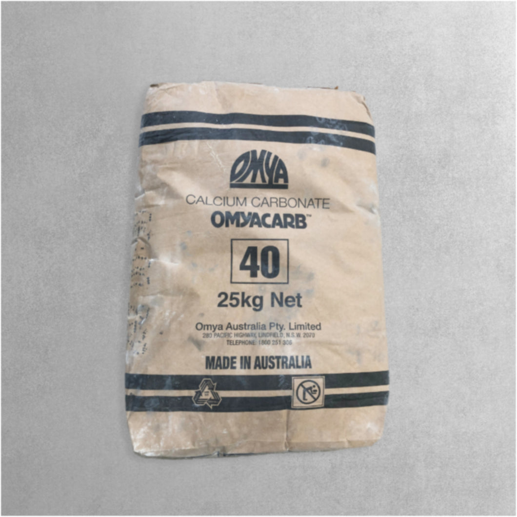 OMYACARB 40 (Calcium Carbonate) 25kg