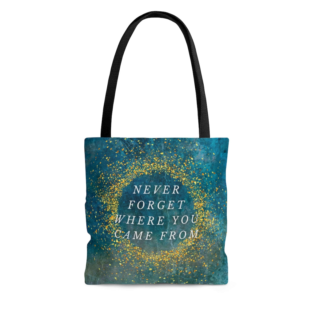 Never Forget Where You Came From AOP Tote Bag