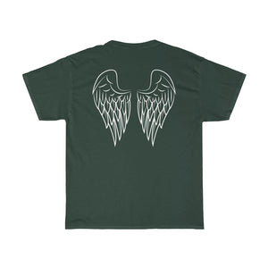 Fostering Saves Lives Winged Unisex Heavy Cotton Tee